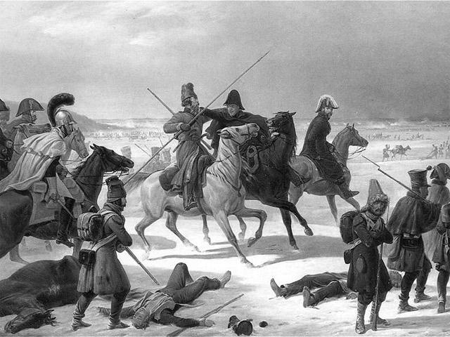 Отступление наполеоновской армии из Москвы. Аткинсон (1813)
