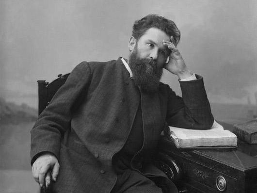 В.Г. Короленко, русский писатель. Место съемки: г. Н.Новгород, 1890-1900 гг.