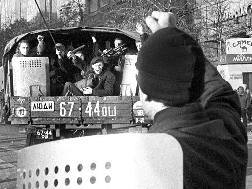 Длинный солнечный день накануне. «Малая гражданская». Москва. Октябрь 1993