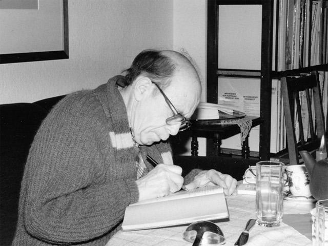 Записи Михаила и Рахиль Гефтер в гостевой книге Центра исследований Восточной Европы