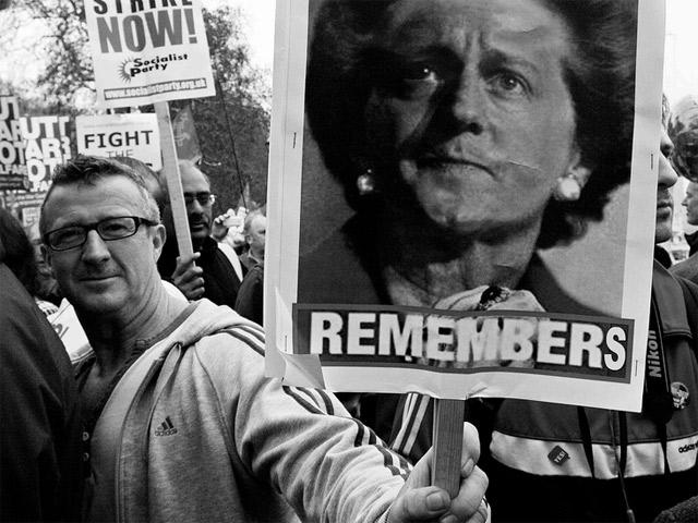 Простая смелость решения: с благодарностью Тэтчер от левых