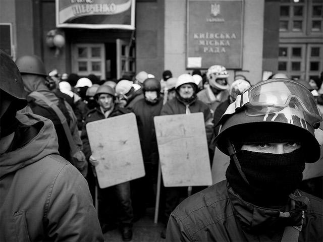 Некоторые моменты протекающей украинской революции