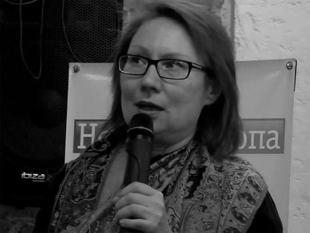 Выступление Елены Трубиной на «Неделе Ханны Арендт в Минске»