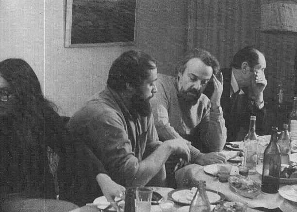 Владимир Кантор и о. Александр Мень, 1984 год