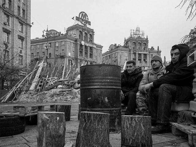 Украинский апокалипсис в картинках: начало. Первая фаза революции