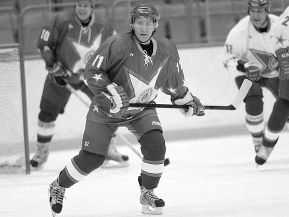 Игра в хоккей с Путиным