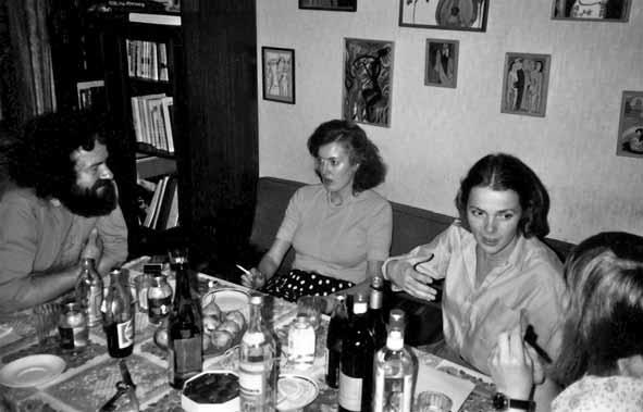 Карл Аймермахер, Андрея фон Кнооп, Ренате Аллардт, Юлия, 1982. Фото: Александр Аллардт
