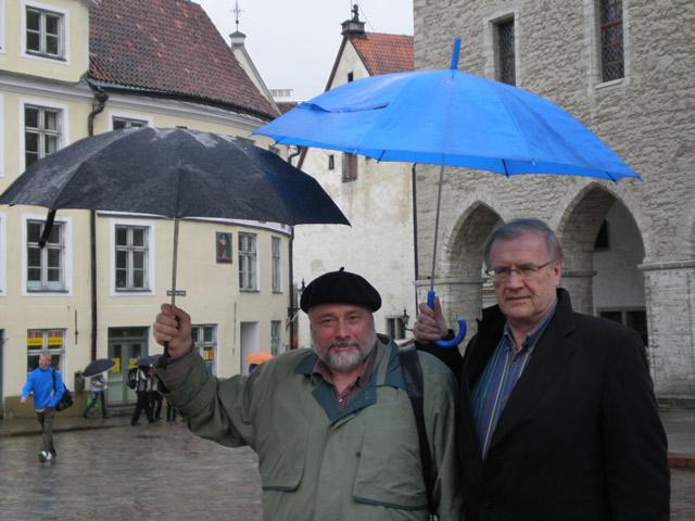 Два друга в Таллине — Владимир Кантор и Эдуард Тинн