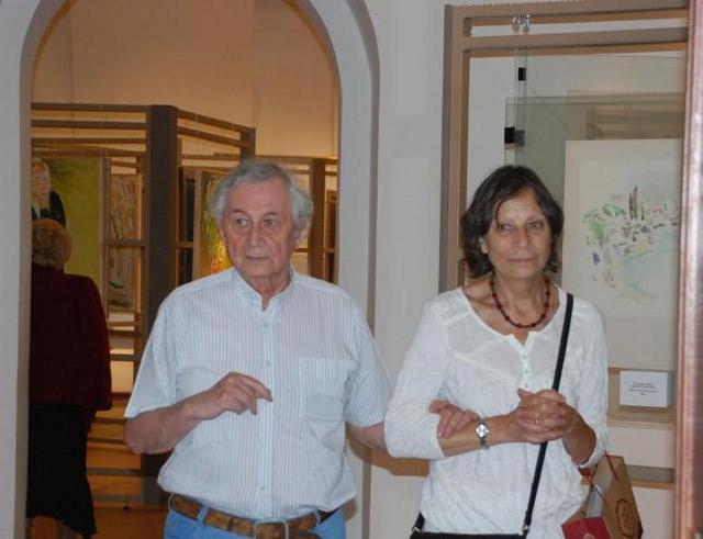 Юрий Ларин и Ольга Максакова (июль-август 2011)