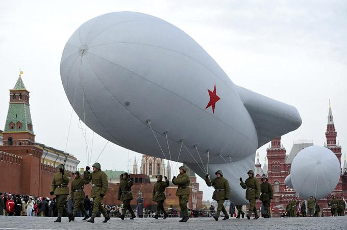 Старые вещи о главном: Москва, Красная площадь, 7 ноября 2011 года