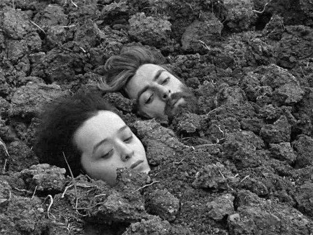 Кадр из фильма «Покаяние» (СССР, 1984, реж. Т. Абуладзе)
