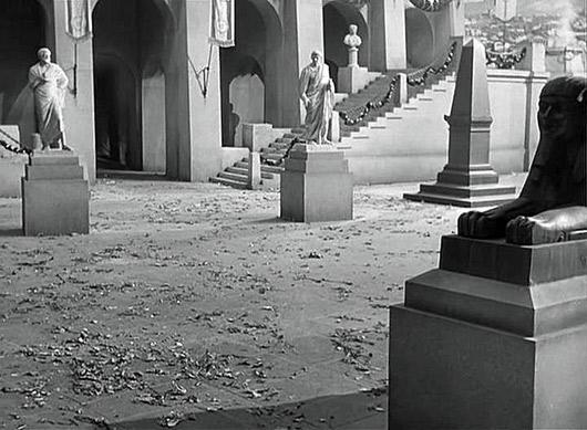 Кадр из фильма «Юлий Цезарь» (реж. Джозеф Манкевич, 1953 год)