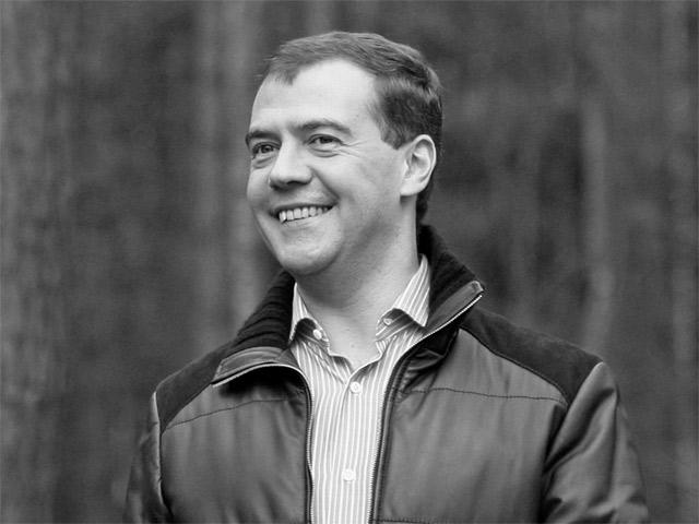Дмитрий Медведев как сказочный герой