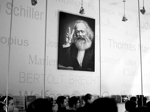 Роль Маркса в возникновении постмодерна